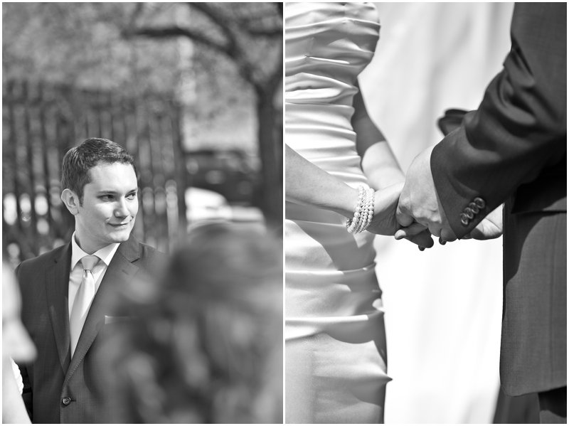 Outdoor Milwaukee Wedding Ceremony, Milwaukee Wedding Photographer
