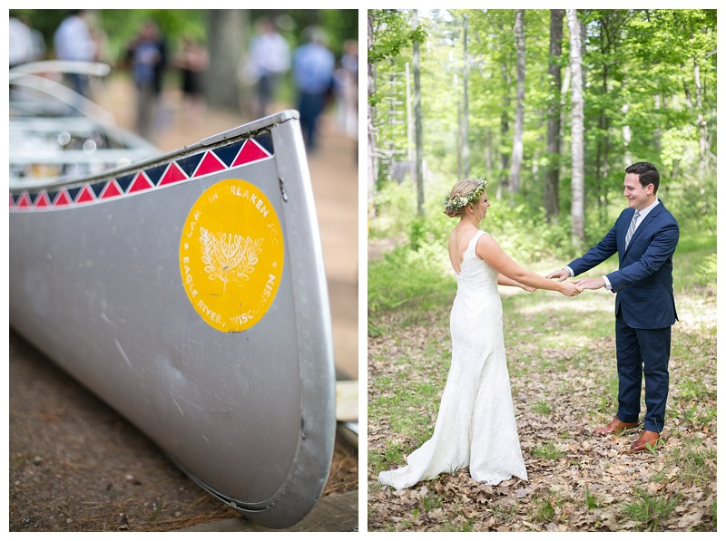 Northwoods Camp Wedding - Jen Sexton Photography