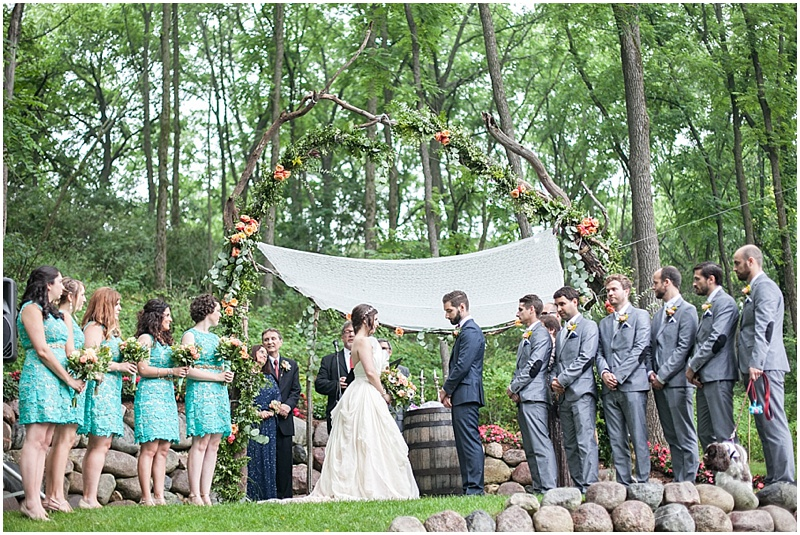backyard wedding - jen sexton photography